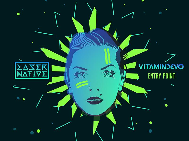Vitamindevo - Entry Point illustration design cover design vector face face vector artwork vector graphic cover art