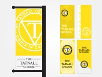 School Pole Banners
