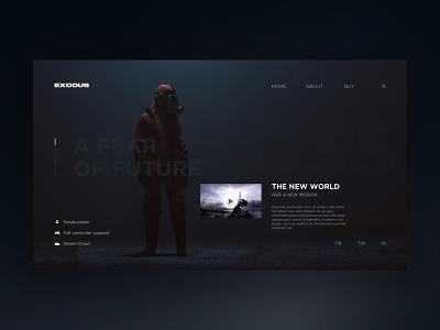 Game store service – UI interface web web interface store streaming service uidesign ui gaming game
