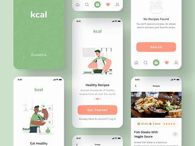 Nutrition App UI Kit healthy diet food recipe recipe app gumroad ui8 ui kit food pp nutrition app
