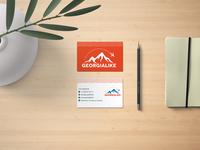 business card/visiting card typography logo illustration branding design businesscard visitingcard business card design graphic design graphicdesign