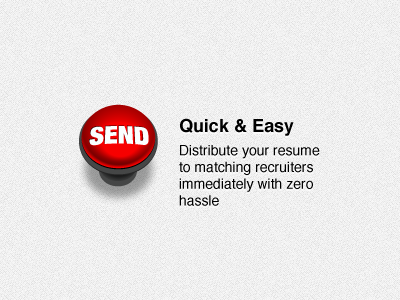 Resume distro send button dribbble