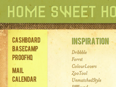 Home Sweet Home web1.0 home texture pea green old vintage