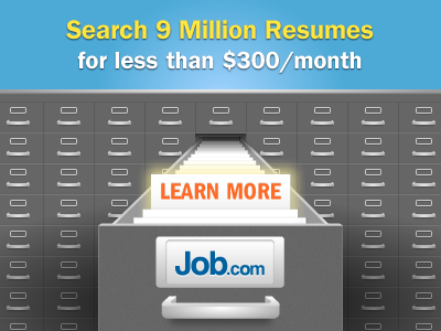 Search Resumes banner