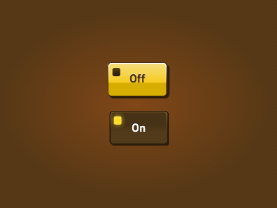 Toggle Buttons button