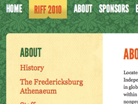 Rappahannock Independent Film Festival Web Site