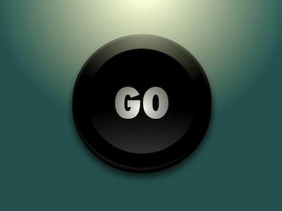 Go! Inkpad Button inkpad vector