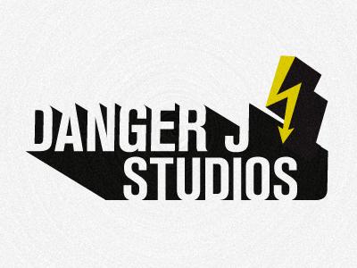 Danger J Studios #1 logo branding black gray yellow