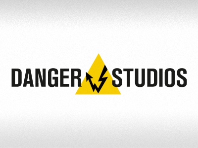 Danger J Studios #2 branding logo black yellow gray
