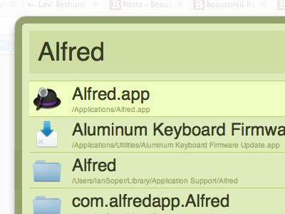 """Forest"" AlfredApp Theme alfredapp ui colorscheme"