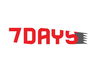 7DAYS Logo design branding logo