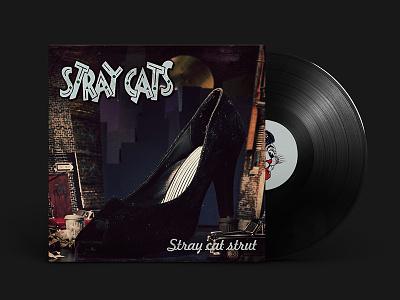 Stray Cat Strut | Album Artwork stray cats artwork album single cover