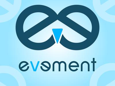 evement design illustrator typography vector logo design nepal branding illustration logo