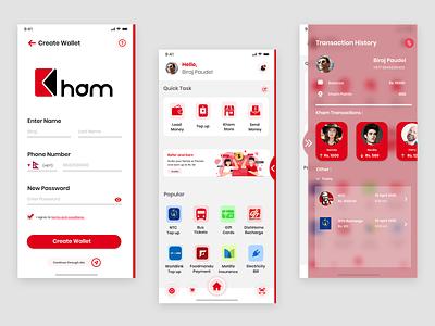Kham icon app product design ui design branding design logo nepal vector illustration ui