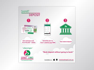Smart Desposit ps illustrator advertising