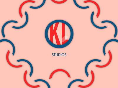 Kl studio illustration studio nepal logo