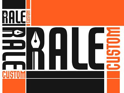 Rale Custom logo nepal illustration branding