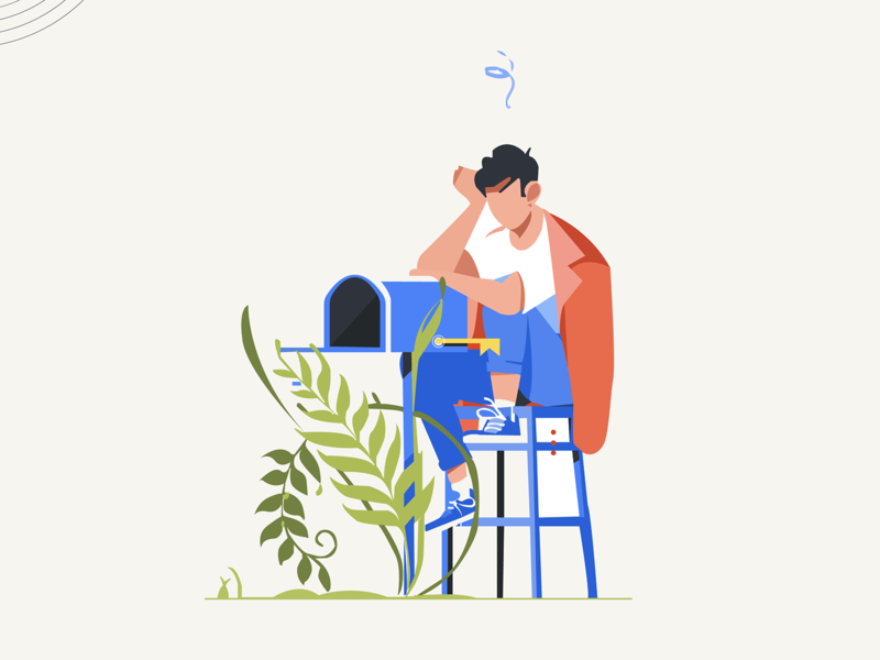 Illustration for Empty Inbox