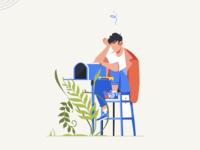 Illustration for Empty Inbox