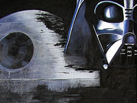 Star Wars - Oil on Canvas