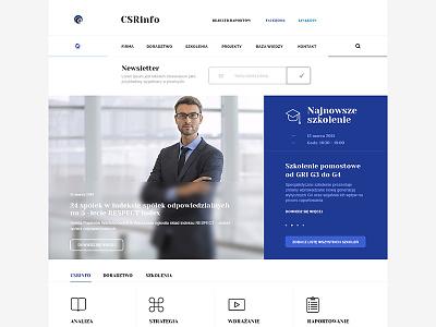 Home Page (WIP) - Web Design newsletter typo blur home page web design minimal top nav icons slider