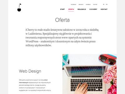 Offer Us Page - ICHERRY (WIP)