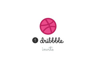1x Dribbble Invite Giveaway minimal clean invitations giveaway invite dribbble