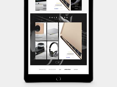 Shopify Theme (   Product Grid   ) [ W I P ] ipad ui design web simple grid theme ecommerce shopify