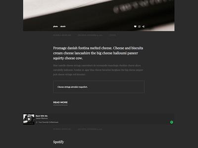 Basic - One-column, blogging tumblr theme