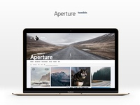 Aperture 2.0.0 Tumblr Theme for Photographers
