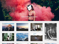 Time Tumblr Theme for Photographers