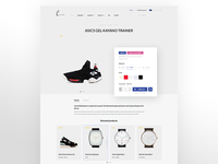 Product cart - Shopify Theme