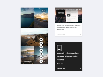 Tumblr Theme UI portfolio blogging minimal simple tumblr ui design web