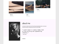 Adobe Muse Portfolio Templates