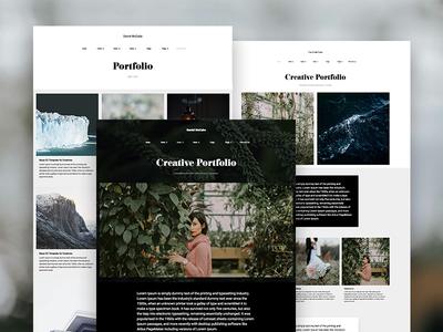 Muse Portfolio Responsive Template + Gallery Widget by Marcin Czaja ...