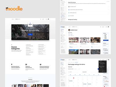 Space - Responsive Moodle Premium Theme themeforest theme template university school education edu learning moodle design web