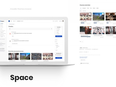 Space - Responsive Moodle Theme