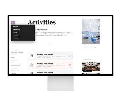 Upcoming Moodle Theme clean ux theme design ui minimal web moodle