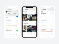 car services app concept