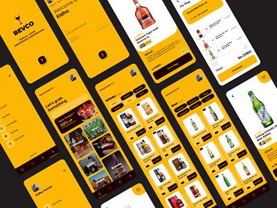 BEVCO figmadesign figma prototyping product design bevco branding logo web ux app ui uidesign uiux typography design