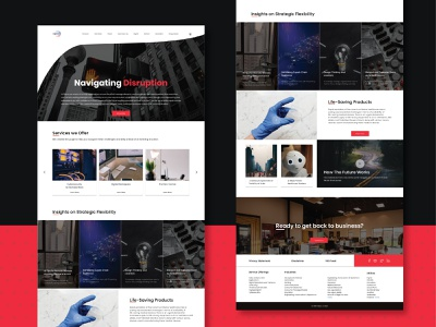 Wipro Home Page Redesign homepage landingpagedesign illustration web product design ux ui dailyui uiux uidesign typography design