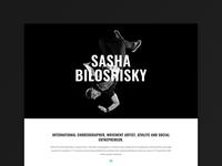 Sasha Biloshisky Website