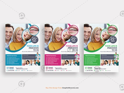 Medical Dental Clinic Flyer