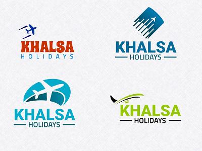 Khalsa Holidays ui design logos logo design logo