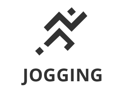 Jogging Logo ui design logos logo design logo