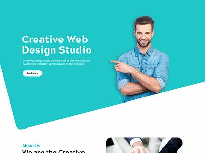 Creative Web Design Studio web ui ux website design design