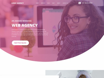 Web Agency web ux website design design ui