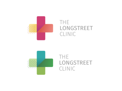 Local Clinic Logo clinic cross logo doctor healthcare medical colors identity