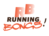 First sketch for a logo for a runners group