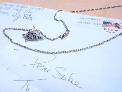 Logo into Jewelry suketoejoeh suke necklage jewelry logo design logo